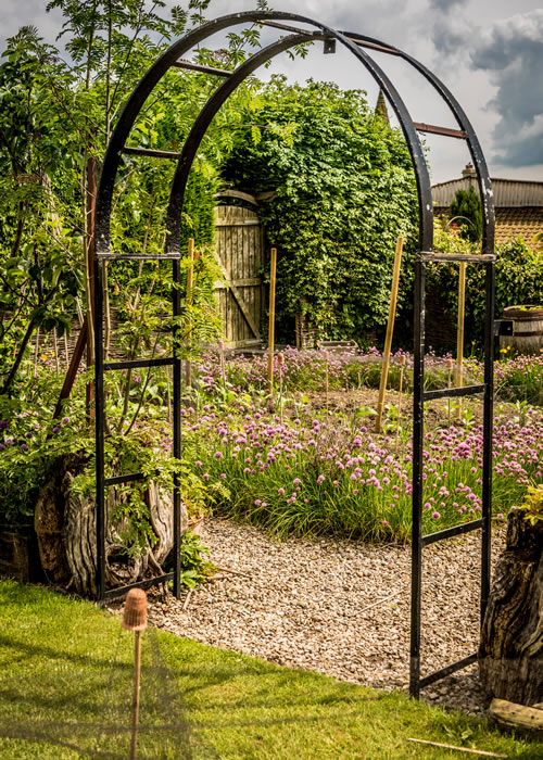 kitchen garden arch